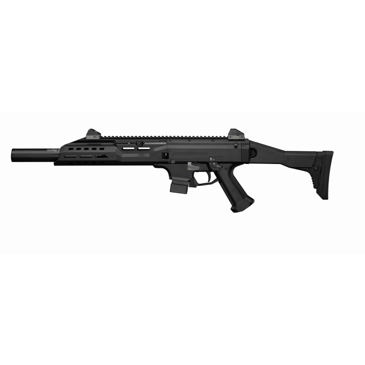 "Samonabíjecí karabina CZ SCORPION EVO3 S1 Carbine, hlaveň 16"", 20 ran, faux supressor, 9 mm Luger, CZUB"