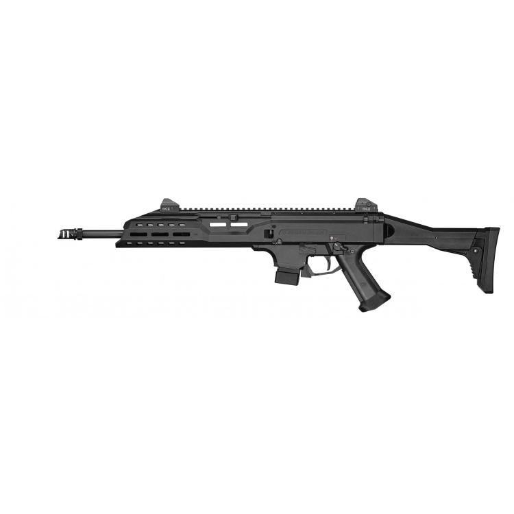 "Samonabíjecí karabina CZ SCORPION EVO3 S1 Carbine , hlaveň 16"", 20 ran, kompenzátor, 9 mm Luger, CZUB"