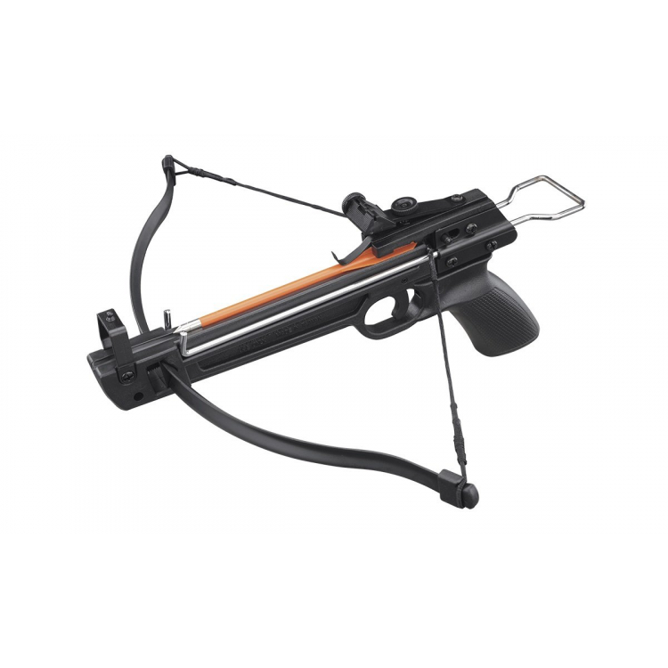 Pistolová kuše 50/A1 50lb., plastové tělo, set 5 šipek, Mankung