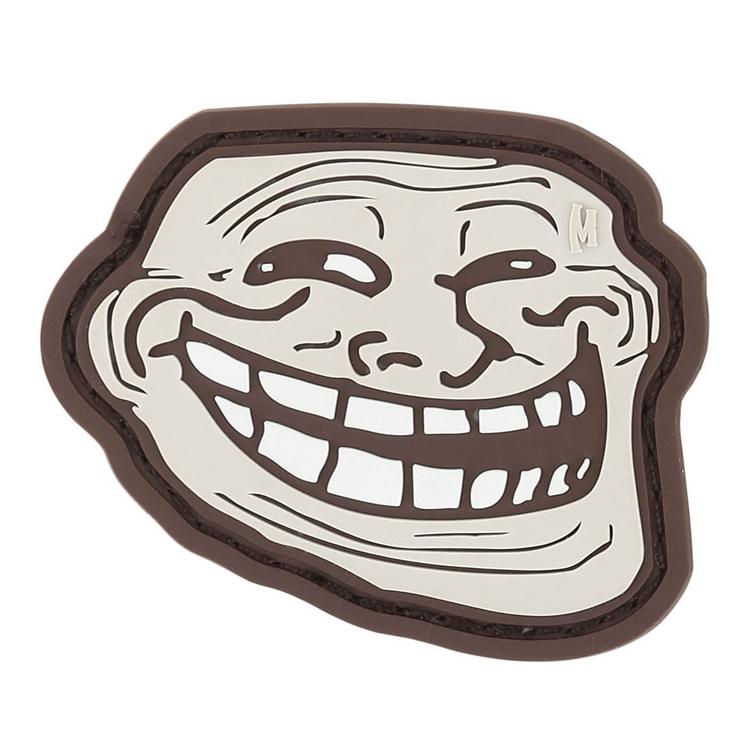 Nášivka Troll face, Maxpedition