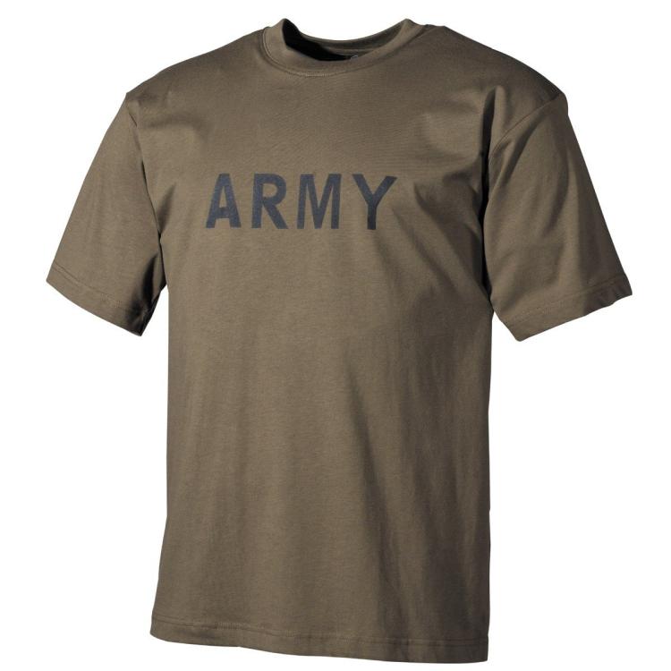 Triko Army, olivové