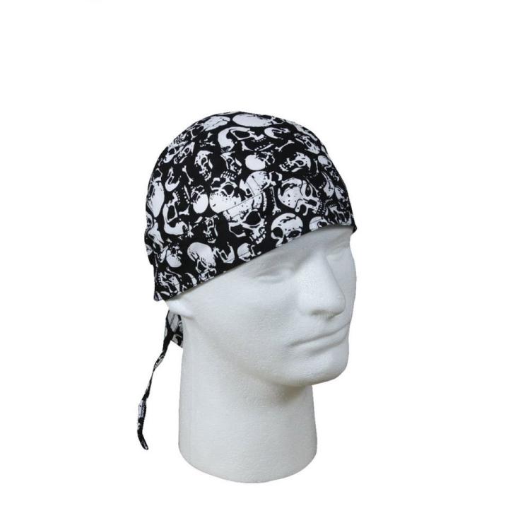 Šátek na hlavu Black Skull, Rothco