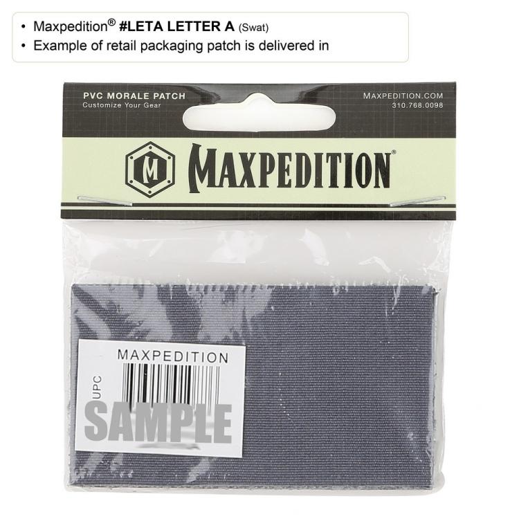Nášivka Maxpedition Letter A