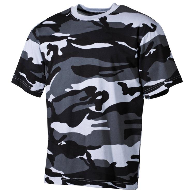Tričko Skyblue, krátký rukáv, MFH, XL