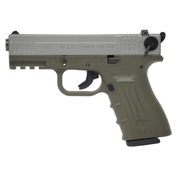 Pistole ISSC M22, kalibr .22LR HV, bicolour