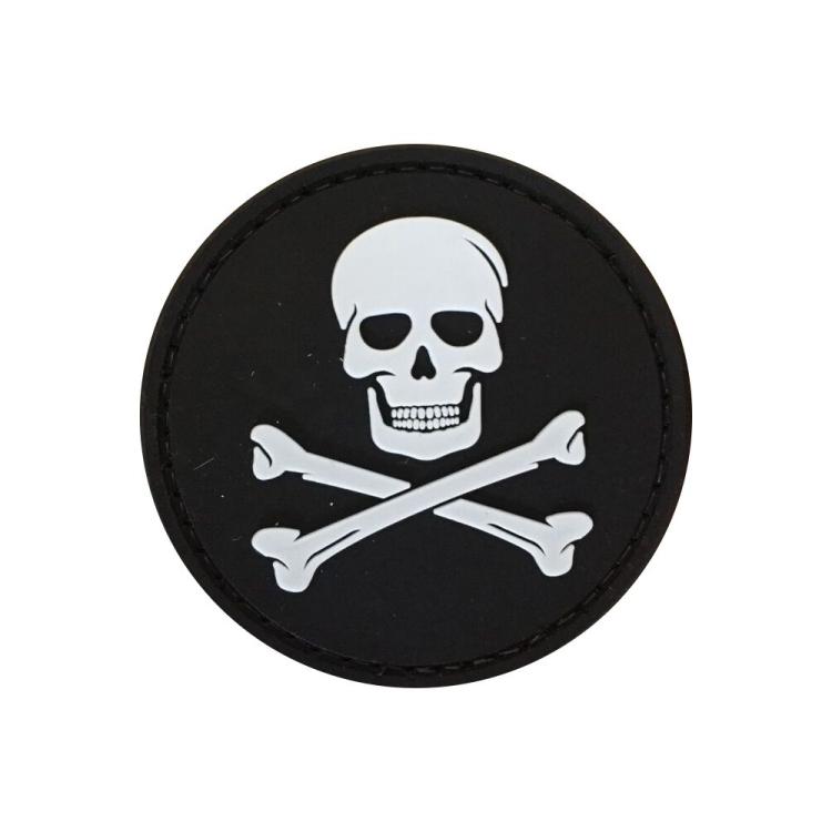 PVC nášivka Jolly Roger