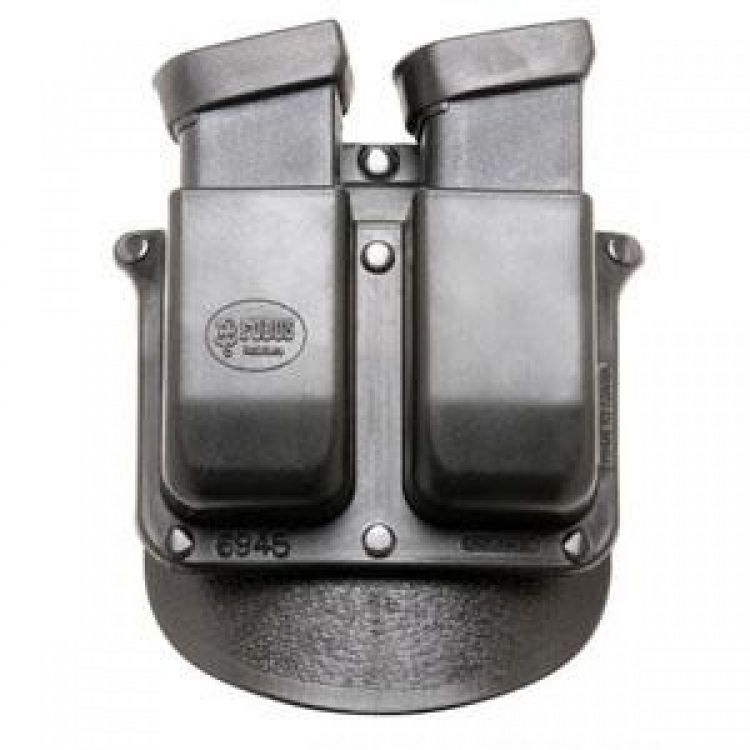 Pouzdro na 2 dvouřadé zásobníky do pistole ráže .45, pádlo, Fobus