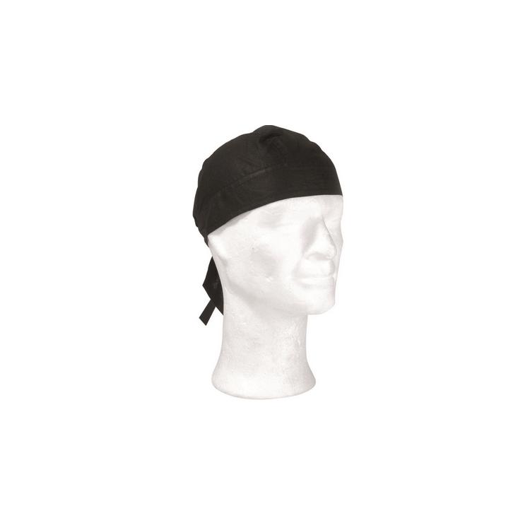 Headwrap černý, Mil-Tec - Headwrap černý, Mil-tec