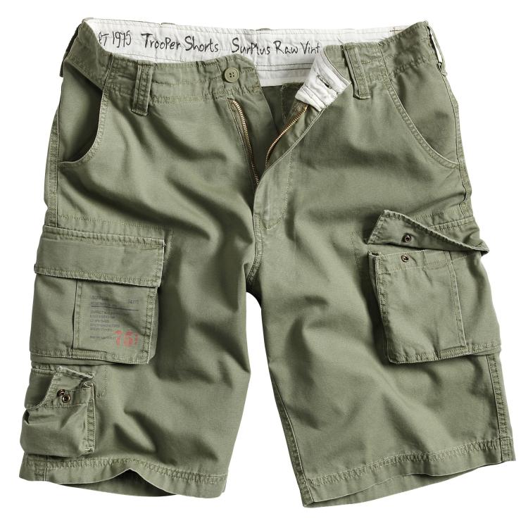 Kraťasy Trooper Shorts, Surplus - Kraťasy Surplus Trooper Shorts