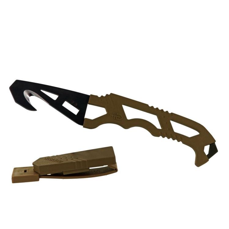 Záchranářský nůž Gerber Crisis Hook Knife TAN499 - Záchranářský nůž Gerber Crisis Hook Knife TAN499
