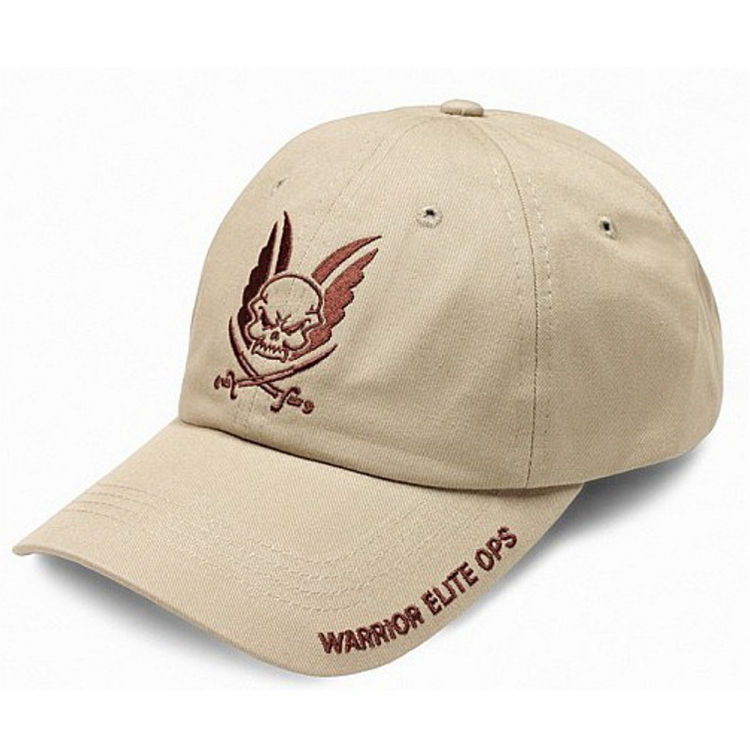 Kšiltovka Warrior Logo Cap, coyote - Kšiltovka Warrior Logo Cap, coyote
