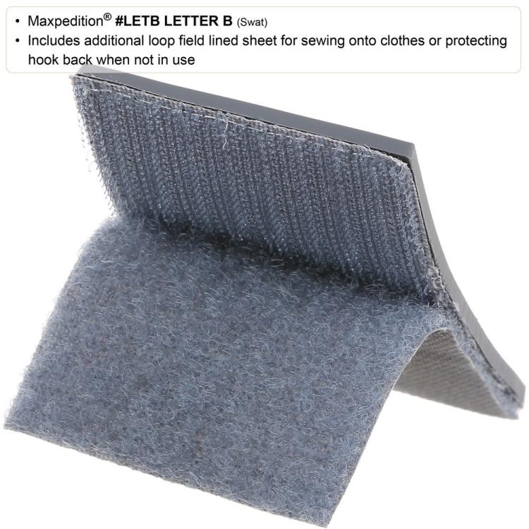 Nášivka Maxpedition Letter B