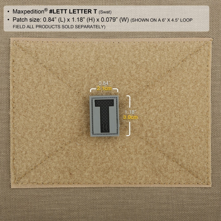 Nášivka Maxpedition Letter T