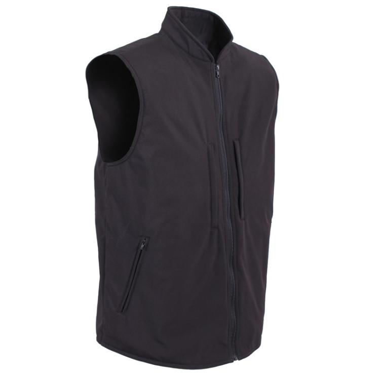 Softshellová vesta pro skryté nošení zbraní, černá, Rothco - Softshellová vesta pro skryté nošení zbraní, černá