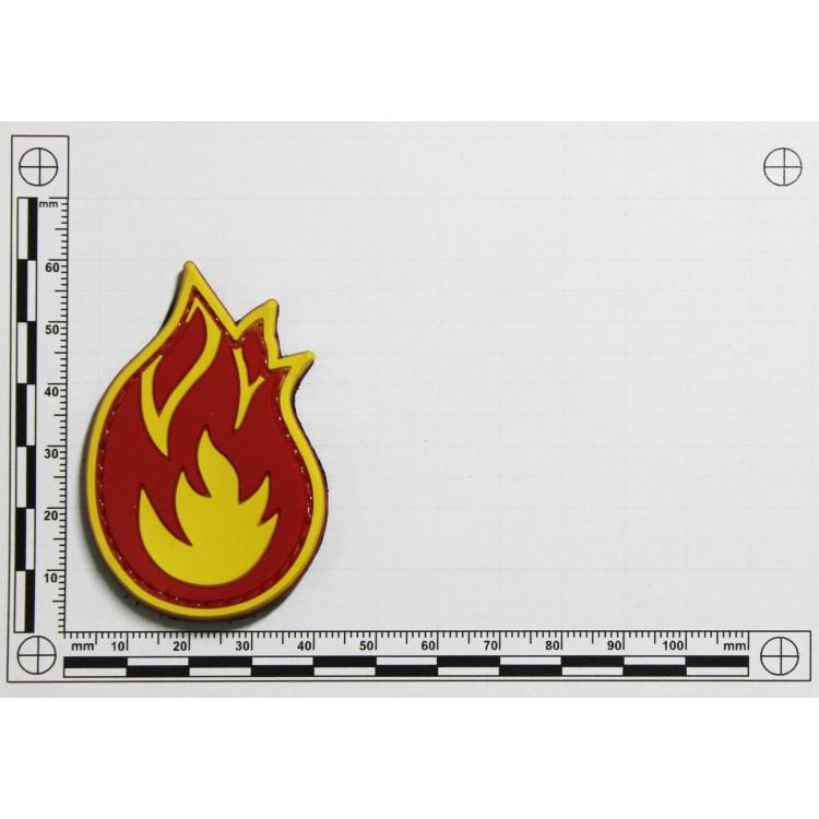 PVC nášivka Fireball