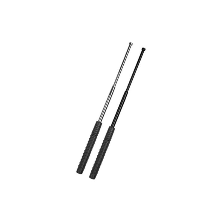 Teleskopický obušek ESP kalený, černá protiskluzová rukojeť - Teleskopický obušek ESP kalený, černá protiskluzová rukojeť