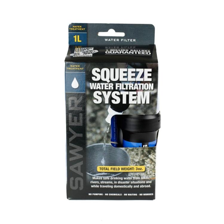 Vodní cestovní filtr SAWYER Squeeze Filter