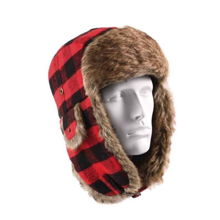 Beranice Vintage Flyers Hat, červeno černá, Rothco