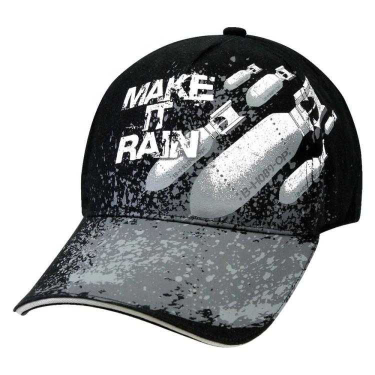 Kšiltovka Deluxe Make It Rain, černá, Rothco