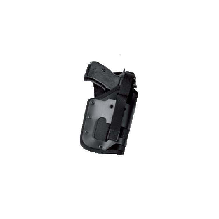 Služební Dasta pouzdro pro pistole velikosti Glock 17, opaskové, s modulem