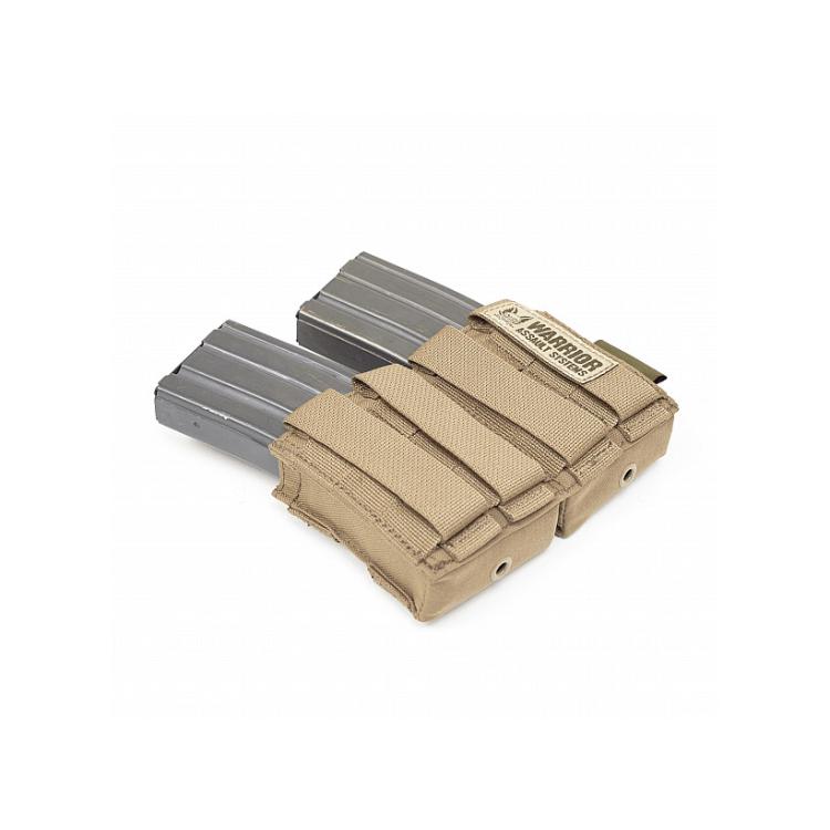 Dvojsumka s kydex vložkou pro 2 zásobníky AR15, Warrior - Dvojsumka s kydex vložkou pro 2 zásobníky AR15, Warrior