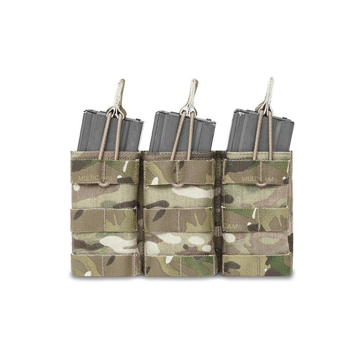 Trojitá sumka na 3 zásobníky 5.56, otevřená, Warrior - Trojitá sumka na 3 zásobníky 5.56, otevřená, Warrior