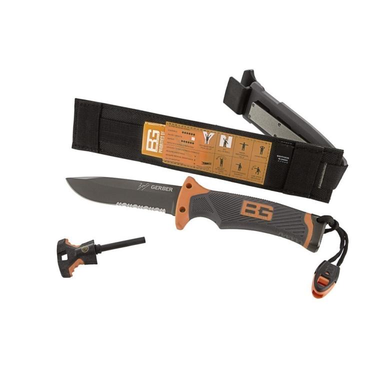 Nůž Gerber Bear Grylls Ultimate Knife SE (kombinované ostří) - Nůž Gerber Bear Grylls Ultimate Knife SE (kombinované ostří)
