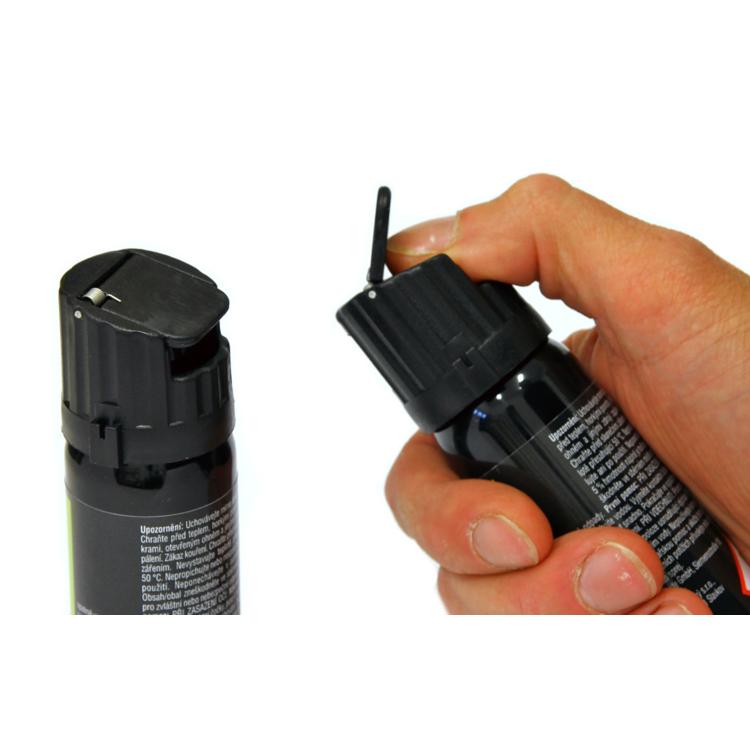 Pěnový pepřový sprej STOPER 2, 63 ml, A1 Security