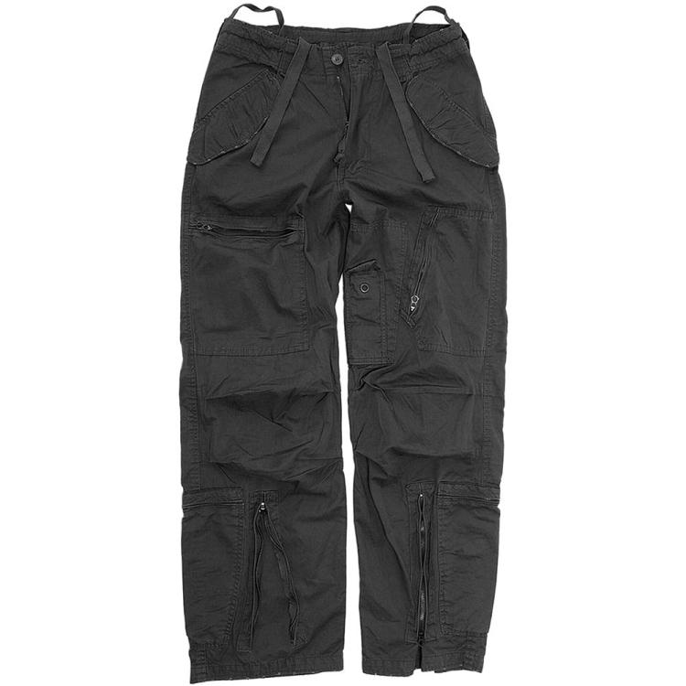 Pilotní kalhoty Popeline, předeprané, Mil-Tec - Kalhoty pilotní předeprané Popeline
