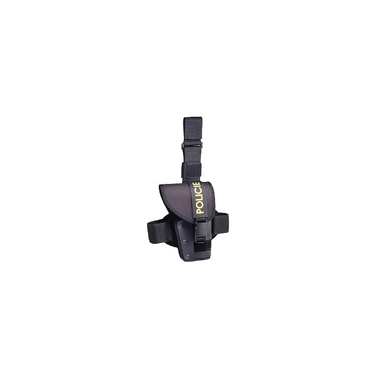 Stehenní pouzdro na pistoli, s chlopní, Dasta 260