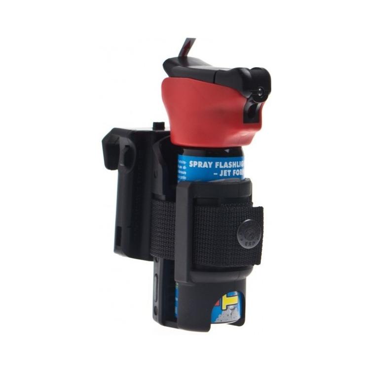 Rotační plastové pouzdro pro obranný sprej, 35 mm - Rotační plastové pouzdro pro obranný sprej, 35 mm