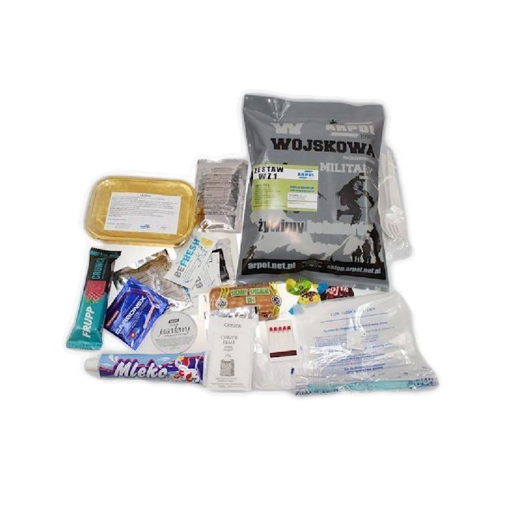 Vojenská potravinová dávka MRE, WZ, Arpol - Vojenská potravinová dávka MRE, ARPOL WZ