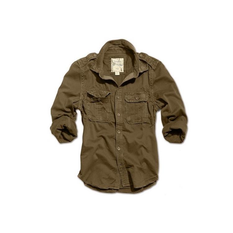 Košile Raw Vintage, dlouhý rukáv, Surplus - Košile Surplus Raw Vintage, dlouhé rukávy