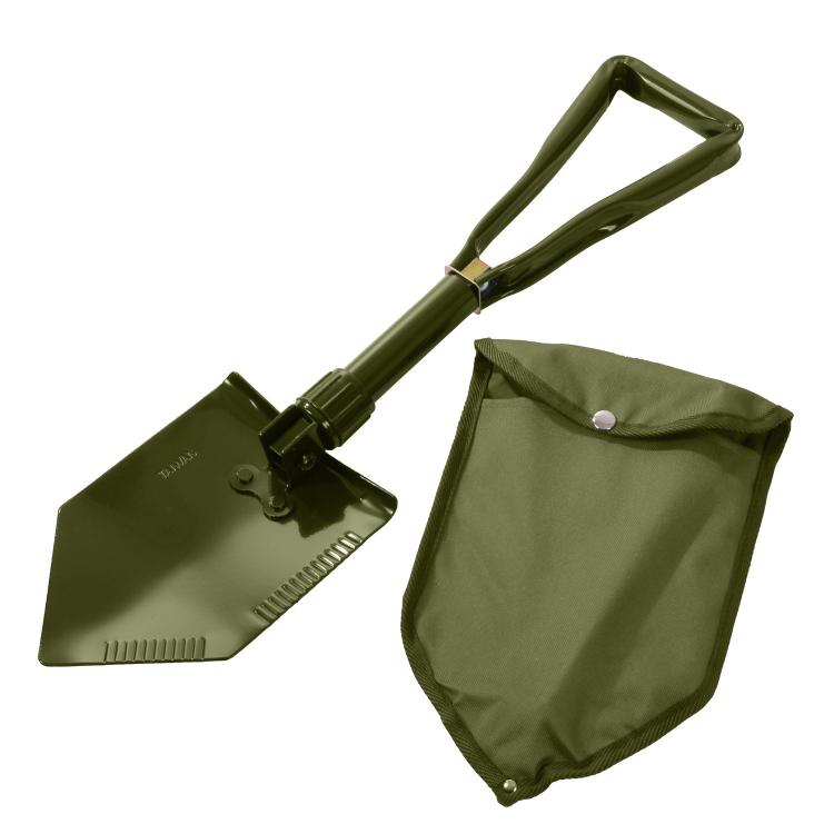 Skládací polní lopatka Deluxe, s pouzdrem, NSN, Rothco - Skládací polní lopatka Rothco Deluxe s pouzdrem, NSN