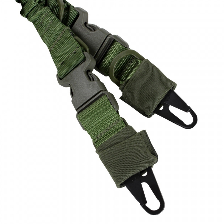 Jedno i dvoubodový popruh na zbraň Condor, olivový