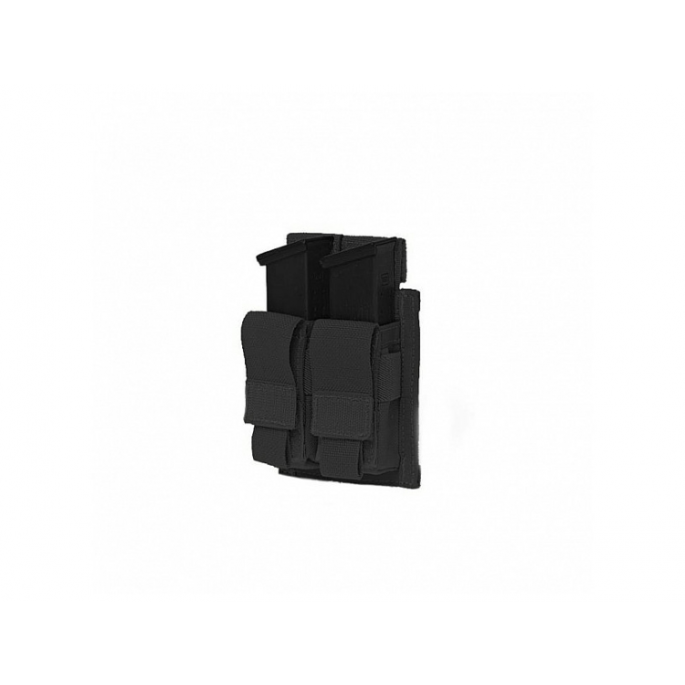 Dvojsumka DA na 2 zásobníky do pistole, suchý zip, Warrior - Dvojsumka DA na 2 zásobníky do pistole, suchý zip, Warrior