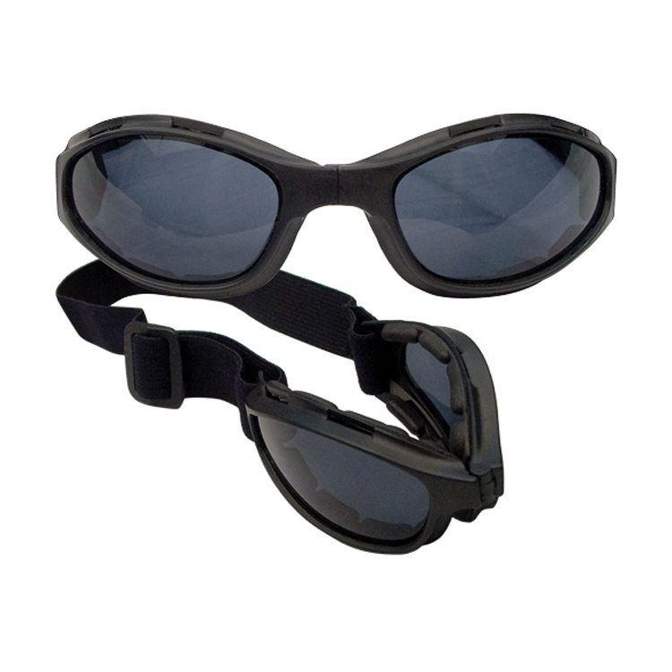 Taktické skládací brýle Collapsible s UV400, černé, Mil-tec