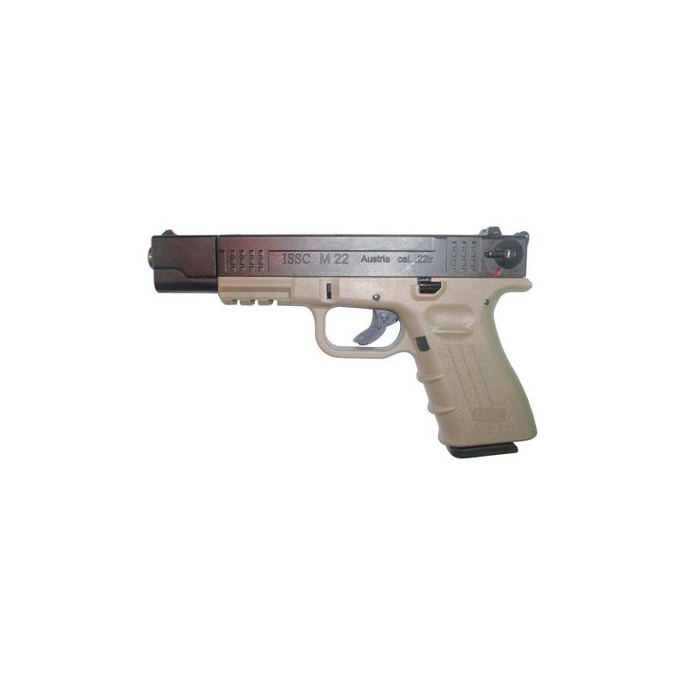Pistole ISSC M22 Target, kalibr .22LR HV, bicolour