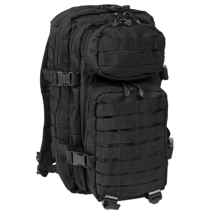 Batoh U.S. Assault, 20 L, černý, Mil-Tec