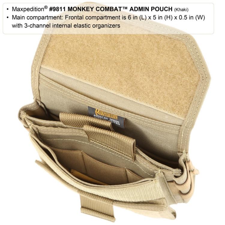 Kapsa Monkey Combat Admin Pouch, Maxpedition