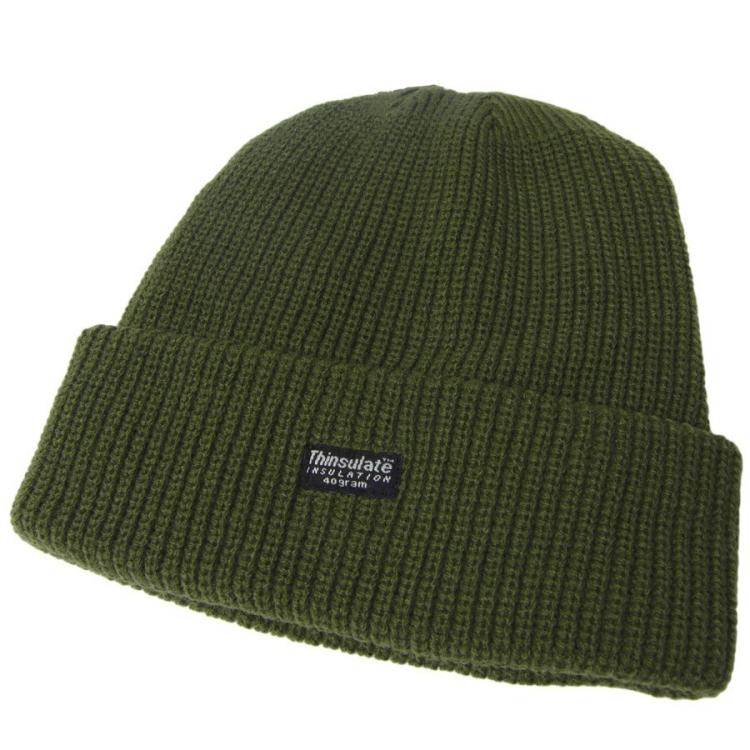 Pletená zimni čepice Thinsulate, olivová, Mil-Tec - Čepice zimní pletená, Thinsulate, Olivová, Mil-Tec