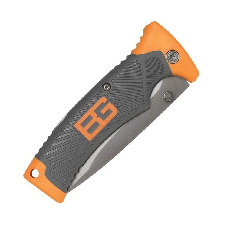 Nůž Gerber Bear Grylls Folding Sheath Knife, kombinované ostří - Nůž Gerber Applegate-Fairbairn Mini Covert, komb. ostří, černý