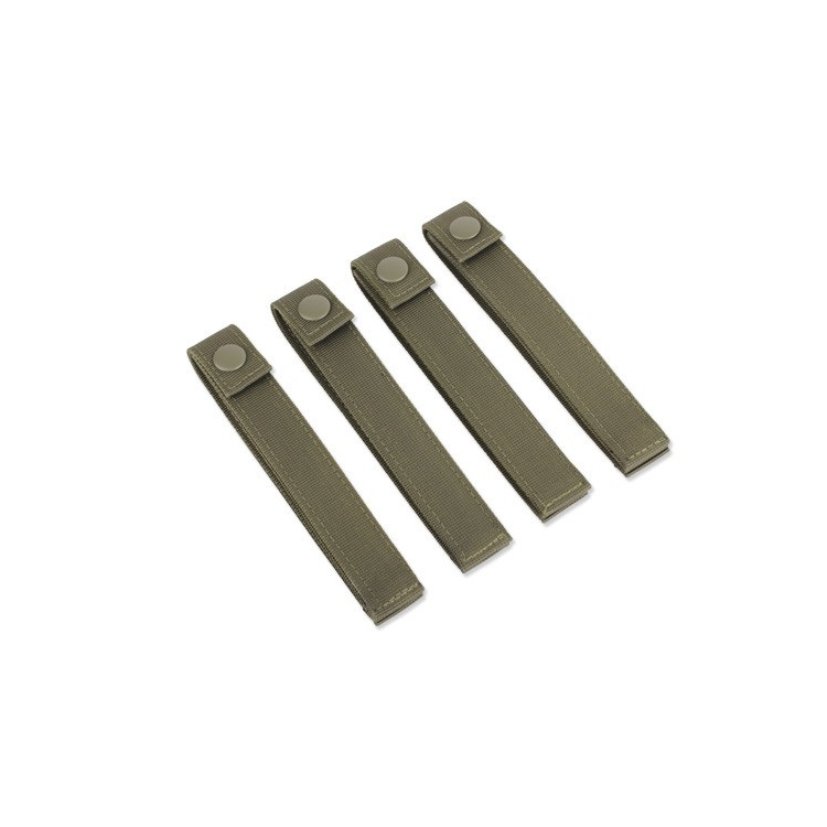 Pásky pro upevnění M.O.L.L.E. výstroje, 15 cm, zelené, Condor - Pásky pro upevnění M.O.L.L.E. výstroje, 15 cm, zelené, Condor