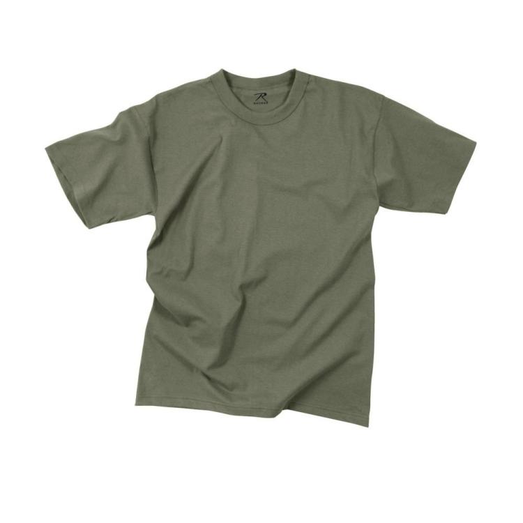Pánské bavlněné tričko, foliage green, Rothco - Triko Rothco, foliage green