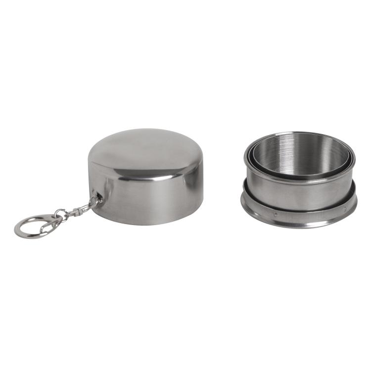 Skládací nerezový pohárek, 125 ml, Reliance - Skládací nerezový pohárek, 125 ml, Reliance