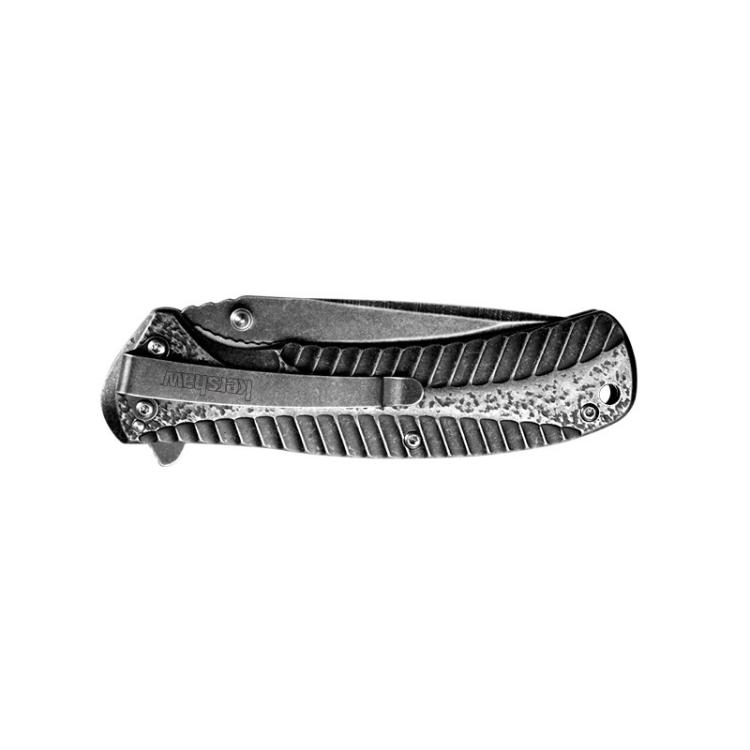 Kapesní nůž s asistovaným otevíráním Kershaw Starter, BlackWash - Kapesní nůž s asistovaným otevíráním Kershaw Starter, BlackWash