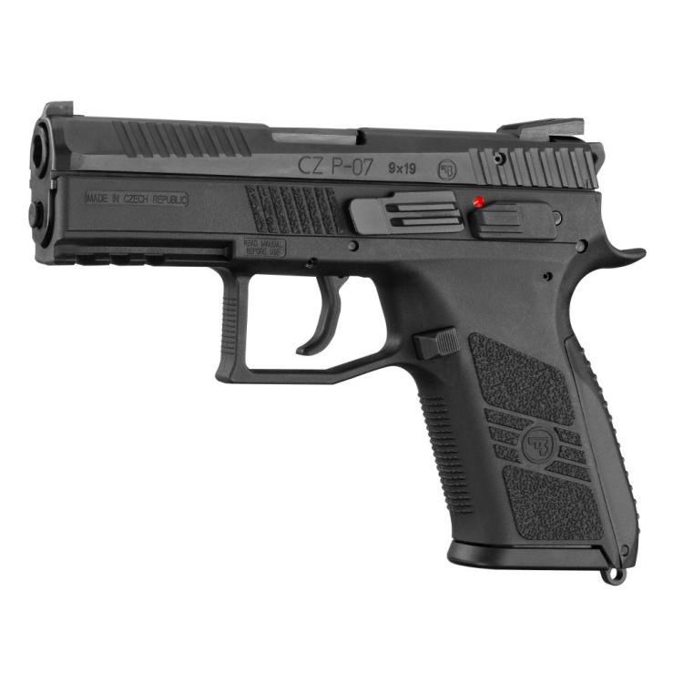 Pistole CZ P-07 9x19, oba ovladače