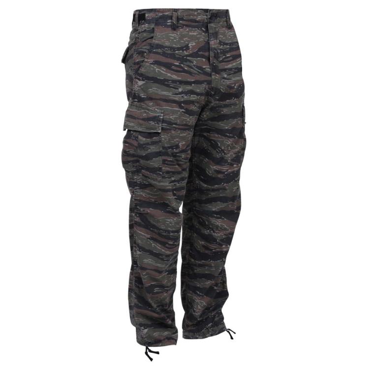 Maskovací kalhoty BDU Camo, Rothco - Maskovací kalhoty BDU Camo