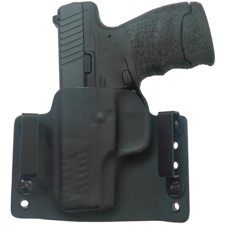 Kydex pouzdro pro Walther PPS M2, pravé, bez swtg., př. Kryptek-Mandrake, rub černá, RH Holsters