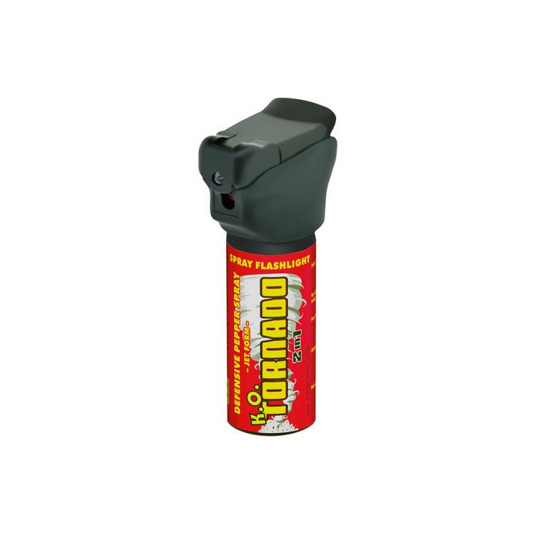 Pepřový sprej Tornado K.O., střela, ESP - Pepřový sprej Tornado K.O., střela, ESP